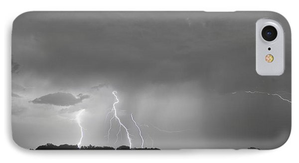 Thunder Rolls And The Lightnin Strikes Bwsc Phone Case by James BO  Insogna
