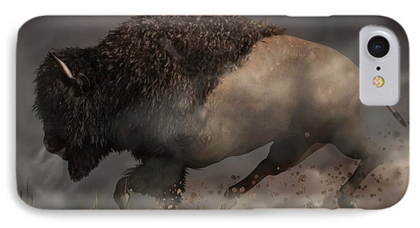 Thunderbeast IPhone Case by Daniel Eskridge