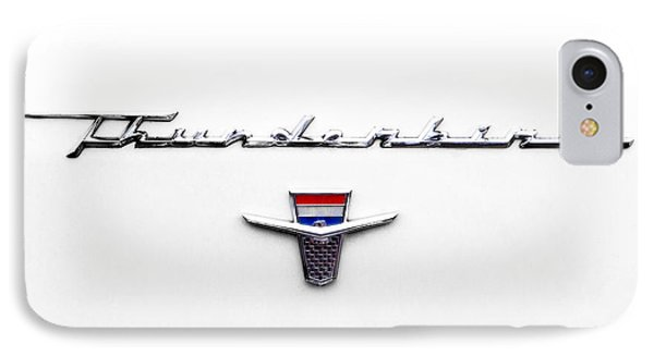 Thunderbird Tag IPhone Case by Jerry Fornarotto