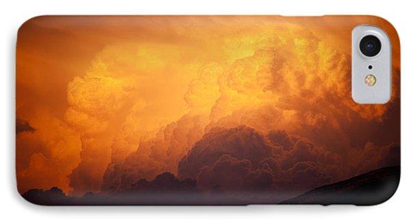 Thunderhead At Sunset IPhone Case