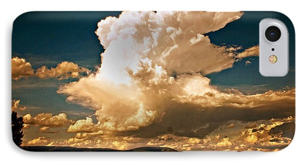 Thunderhead Over The Blacktail Plateau Phone Case by Marty Koch