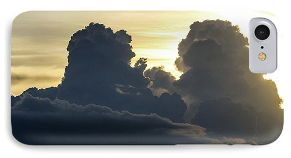 Thunderstorm Clouds IPhone Case