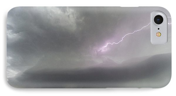 IPhone Case featuring the photograph Thunderstorm by Rob Graham