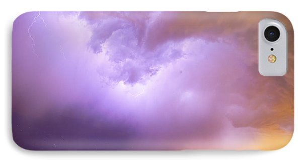 Thunderstorm Tidal Wave Phone Case by James BO  Insogna