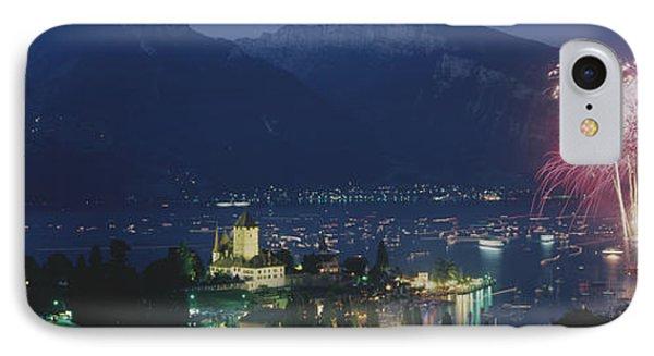 Thuner See, Spiez, Switzerland IPhone Case