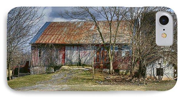 Thurmont Barn IPhone Case by Joan Carroll
