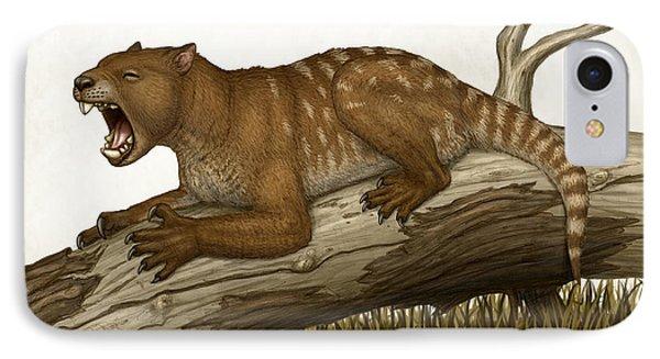 Thylacoleo Carnifex, A Marsupial Phone Case by Heraldo Mussolini