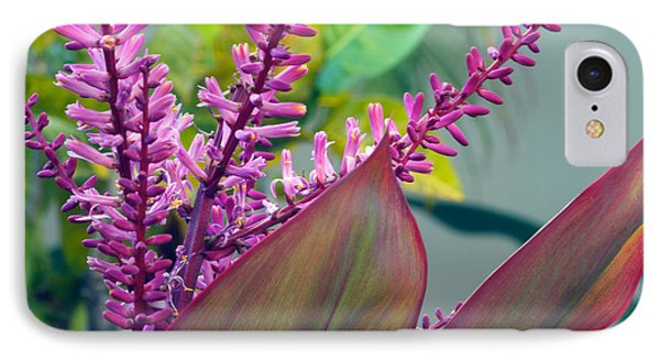 Ti Leaf Bloom All Profits Go To Hospice Of The Calumet Area IPhone Case