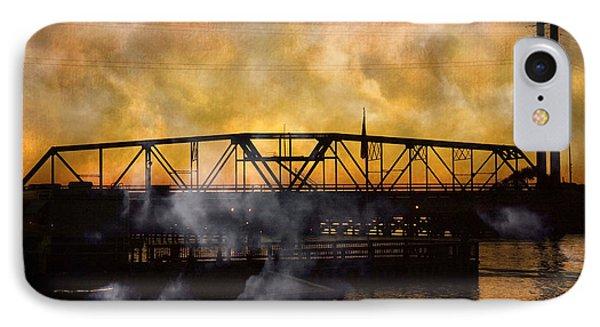 Ti Swing Bridge Ghost IPhone Case by Betsy Knapp