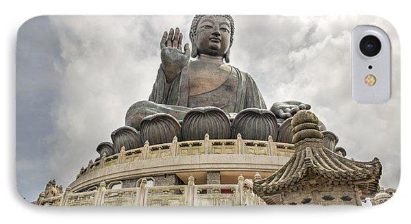 Tian Tan Buddha Phone Case by David Gn