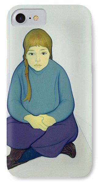 Tiana, 1969 Acrylic & Canvas On Board IPhone Case