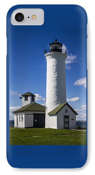 Tibbetts Point Lighthouse Phone Case by Ben and Raisa Gertsberg