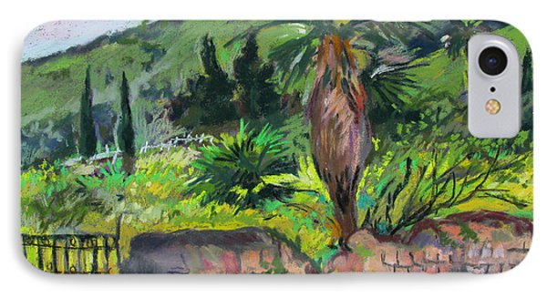 IPhone Case featuring the painting Tiberius Israel by Linda Novick