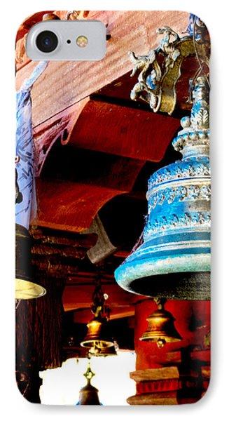 Tibetan Bells IPhone Case by Greg Fortier