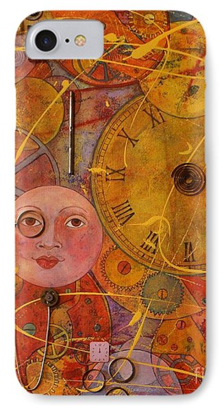 Tic Toc IPhone Case by Jane Chesnut