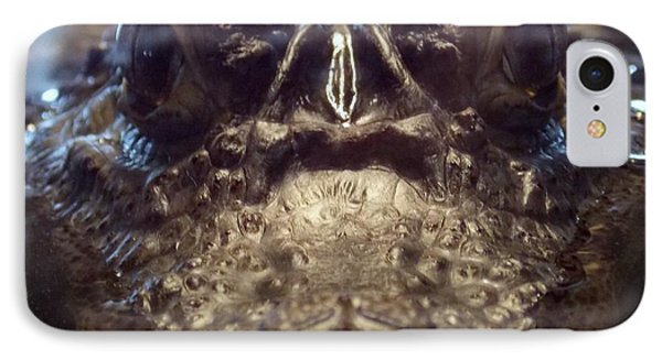 IPhone Case featuring the photograph It's So Quiet, You Can Hear The Gators Breathing by John Glass
