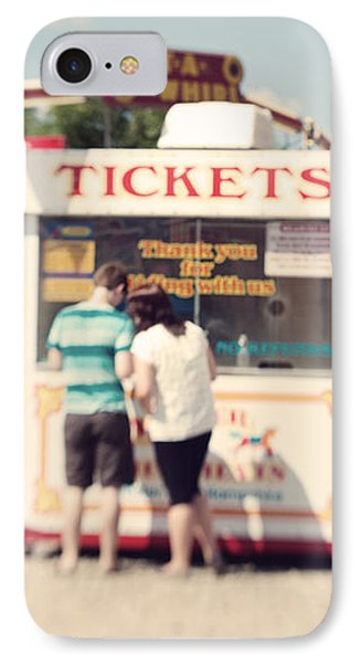 Ticket Booth Phone Case by K Hines