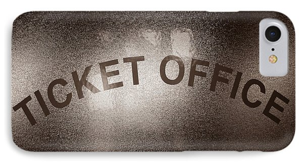 Ticket Office Window Phone Case by Olivier Le Queinec