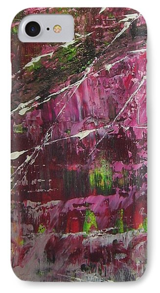 IPhone Case featuring the painting Tickled Pink by Lucy Matta