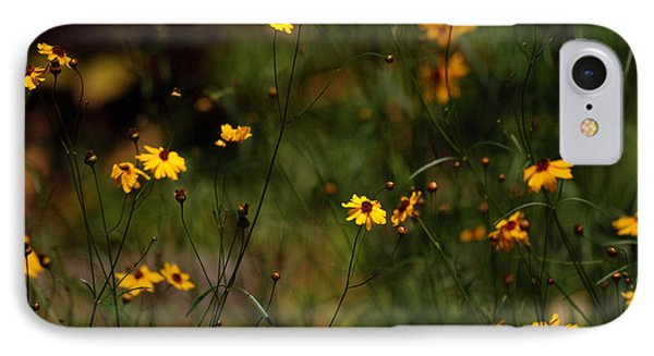 IPhone Case featuring the photograph Tickseed Forest by Lorenzo Cassina
