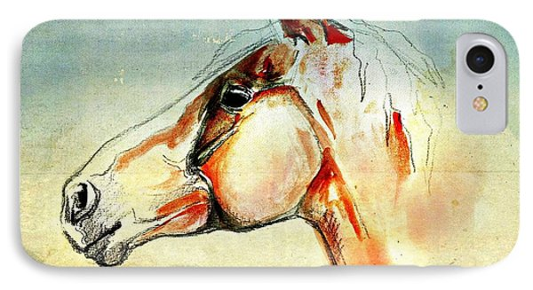 Tico  A Finntsh Horse IPhone Case