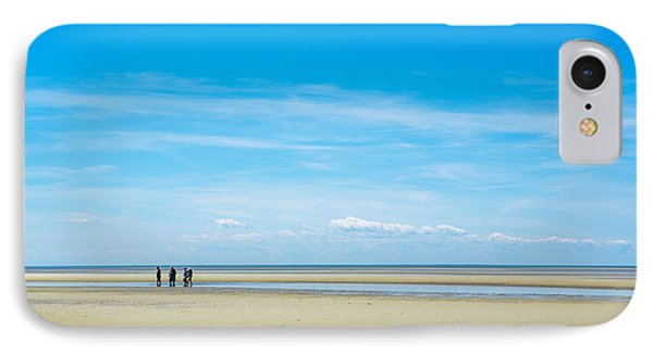 Tidal Flats Of Cape Cod IPhone Case by Diane Diederich