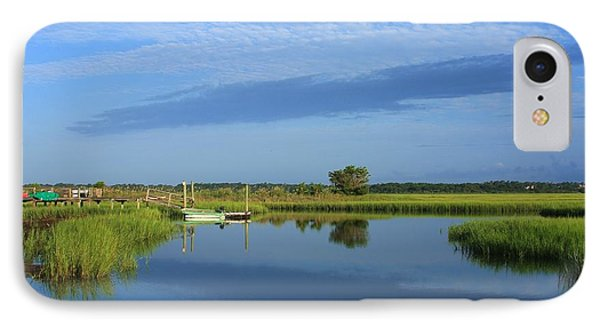 Tidal Marsh At Wrightsville Beach IPhone Case by Mountains to the Sea Photo