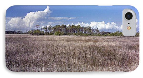 IPhone Case featuring the photograph Tidal Marsh On Roanoke Island by Greg Reed