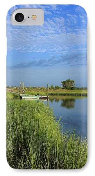 Tidal Marsh Wrightsville Beach Phone Case by Mountains to the Sea Photo
