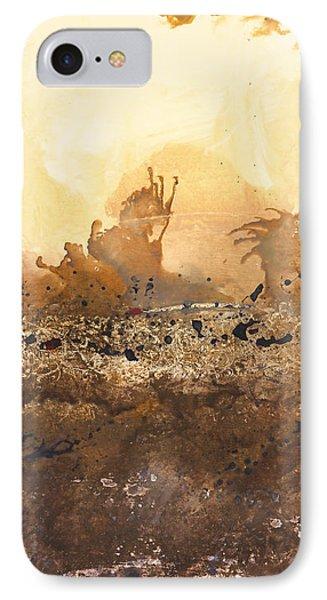 Tidal Sunrise Panel 3 Phone Case by Craig Tinder