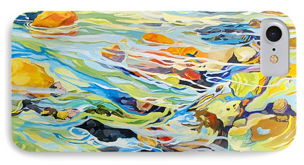 IPhone Case featuring the painting Tidepool 2 by Rae Andrews