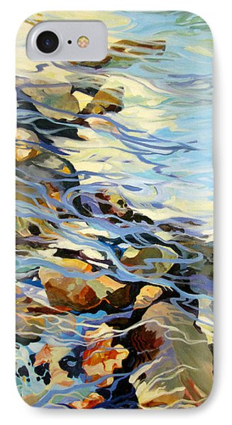IPhone Case featuring the painting Tidepool 3 by Rae Andrews