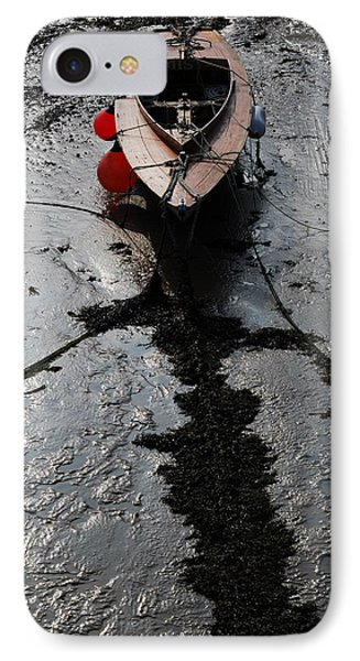 Tide's Out 1 IPhone Case by Wendy Wilton