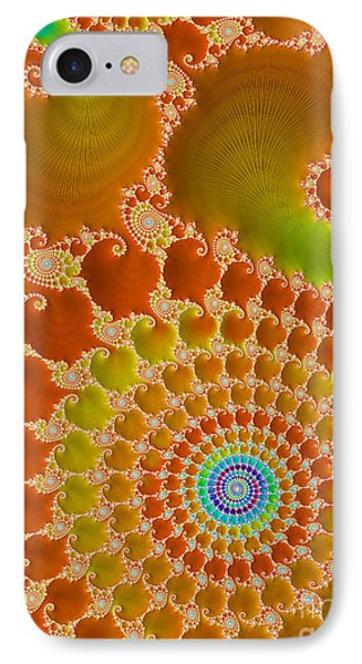 Tie Dye  IPhone Case by Heidi Smith