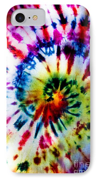 Tie Dyed T-shirt IPhone Case by Cheryl Baxter