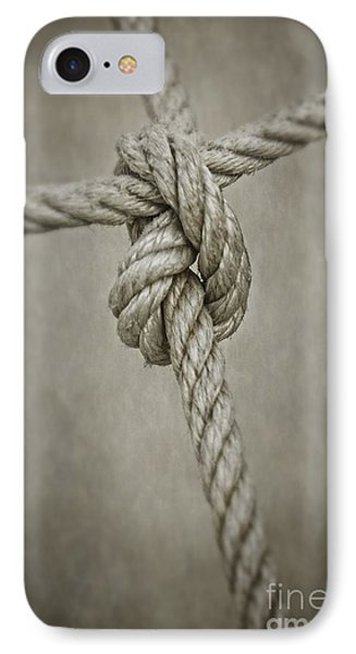 Tied Knot IPhone Case by Carlos Caetano