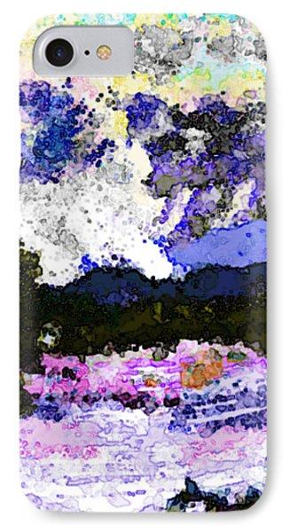 Tierra Amarilla Storm Sketch I IPhone Case