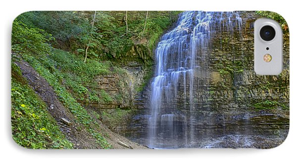 IPhone Case featuring the photograph Tiffany Falls In Summer by Gary Hall