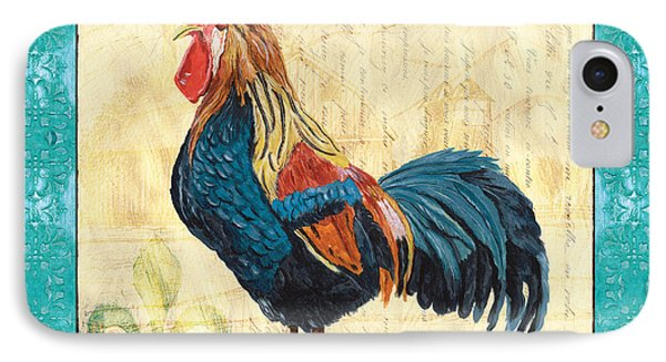Tiffany Rooster 2 Phone Case by Debbie DeWitt