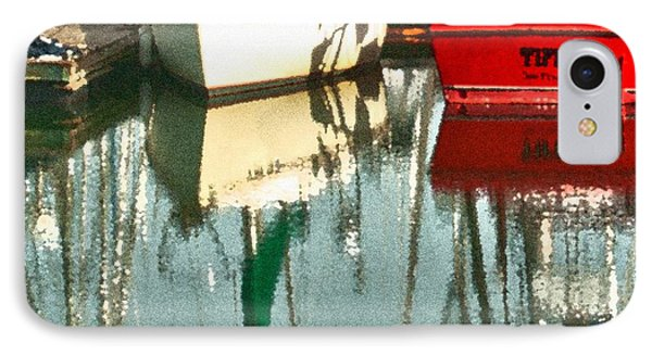 Tiffany Sailed From San Francisco To Moss Landing Phone Case by Artist and Photographer Laura Wrede