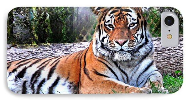 IPhone Case featuring the photograph Tiger 2 by Marty Koch