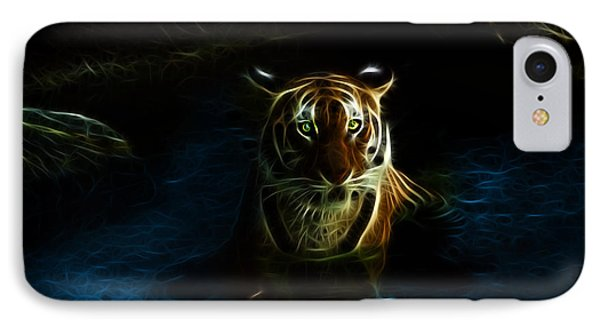 Tiger 3860 - F IPhone Case