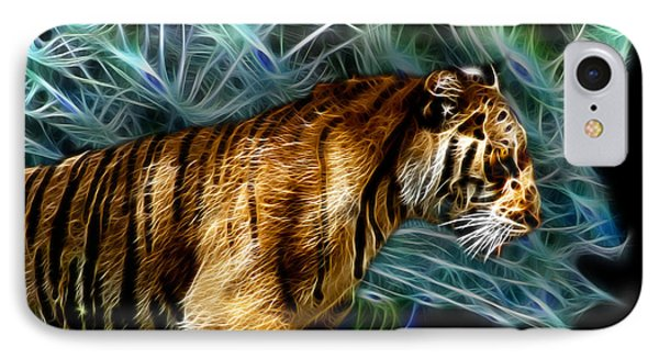 Tiger 3921 - F Phone Case by James Ahn