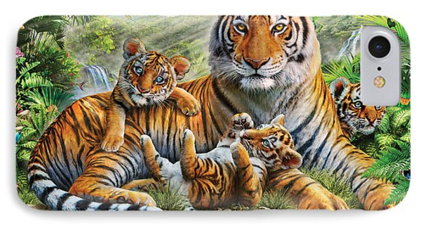 Tiger And Cubs IPhone Case