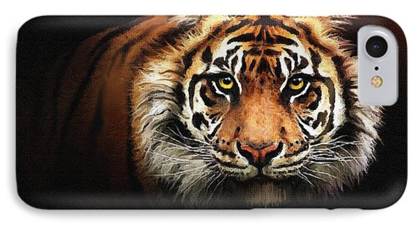 Tiger Bright Phone Case by Robert Foster
