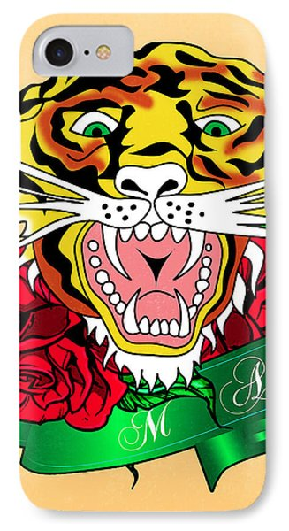 Tiger L IPhone Case by Mark Ashkenazi