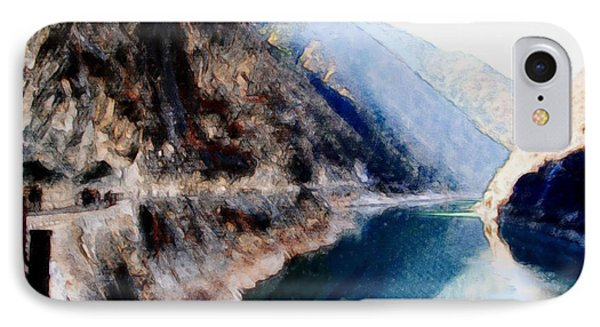 Tiger Leaping Gorge 2 IPhone Case by Lanjee Chee