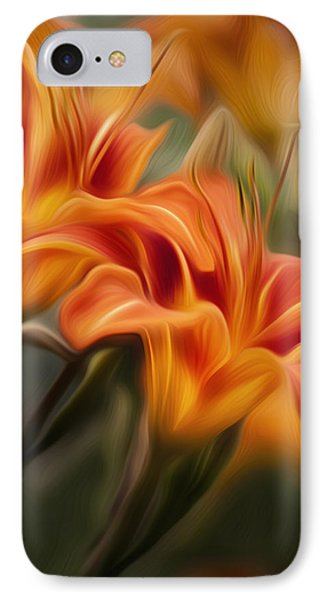 Tiger Lily Phone Case by Bill Wakeley