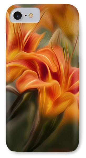 Tiger Lily IPhone Case by Bill Wakeley