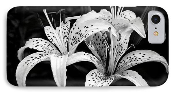 Tiger Lily I Phone Case by Jeff Burton